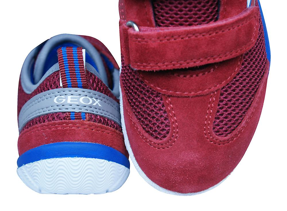 Geox J Trifon B Boys Trainers / Shoes - Red