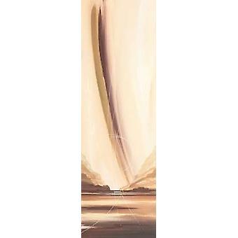 Viel erreicht-Plakat-Druck von John Bate