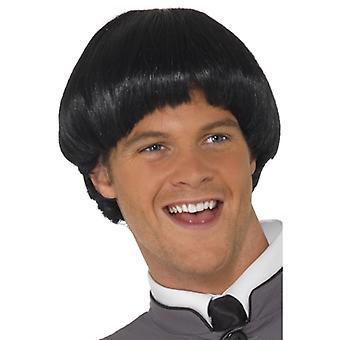 60s wig mushroom Lennon wig Fab four
