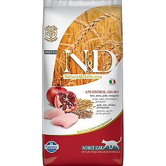 Farmina N&D Low Ancestral Grain Adult Poulet et Grenade (Chats , Nourriture , Croquettes)