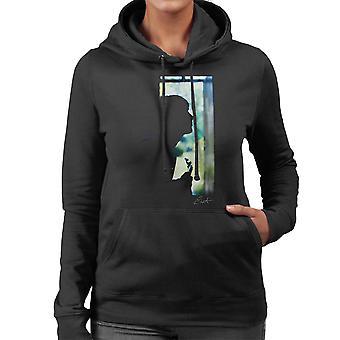 Paul Weller Gitarre Silhouette Damen Sweatshirt mit Kapuze