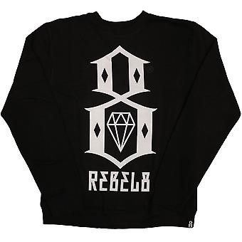 Rebel8 Logo Sweatshirt Black