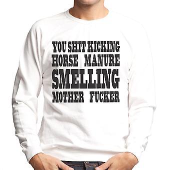 Horse Manure Smelling Mofo Men's Sweatshirt