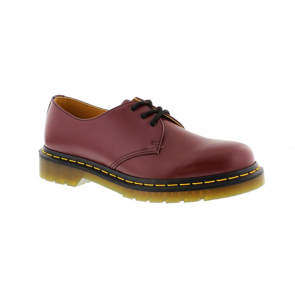 Dr Martens 1461 - Cherry Red Smooth Womens Shoes Various