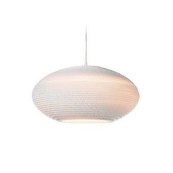 Graypants White Disc Pendant Light 16