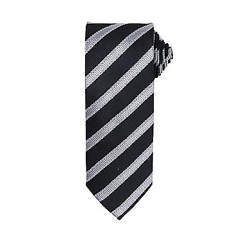 Premier Mens Waffle Stripe Formal Business Tie