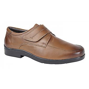 Roamers Mens Touch Fastening Mudguard Casual Shoes