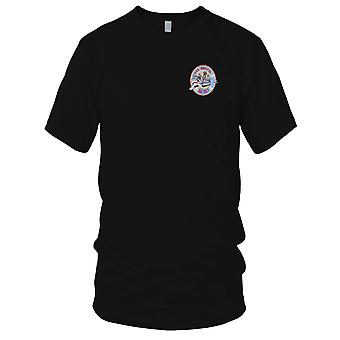 US Navy DD-857 A USS Bristol Embroidered Patch - Mens T Shirt