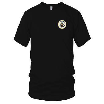US Navy USS Cyclone PC-1 Coastal Patrol Ship Embroidered Patch - Kids T Shirt