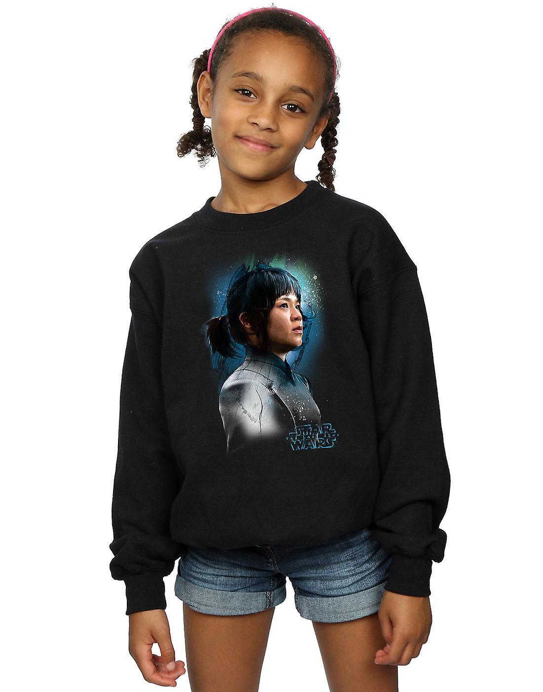 Star Wars filles le dernier Tico Jedi Rose brossé Sweatshirt