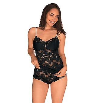 Sans Complexe 53564 Women's Arum Black Lace Top Camisole