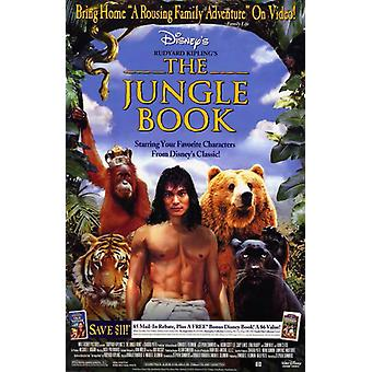 Rudyard Kiplings The Jungle Book Movie Poster (11 x 17)