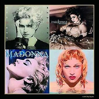 Madonna Coaster Albums Montage new official 9.5cm x 9.5cm single drink