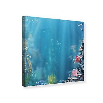 Canvas Print Underwater