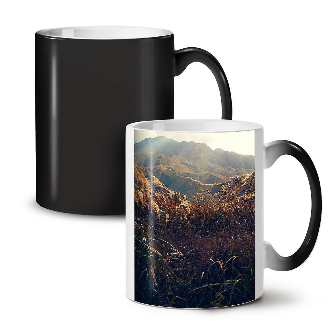 Vallée OzWellcoda Montagne Noir Coloris Nouveau Nature De Café Céramique Tasse 11 Thé Changeant b6gyY7f