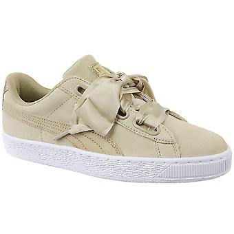 Puma Basket Heart Metallic Safari 364083-01 Womens sneakers