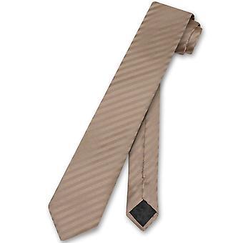 Vesuvio Napoli stropdas verticale strepen MAGERE 2,5-inch hals Tie
