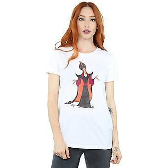 Disney Women's Aladdin Classic Jafar Boyfriend Fit T-Shirt
