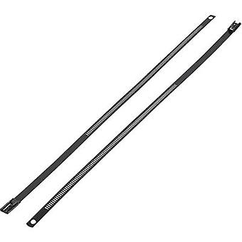 Cable tie 225 mm Black Coated KSS ASTN-225
