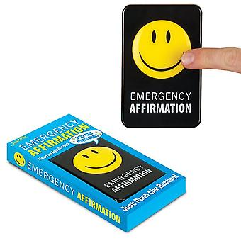 Emergency Affirmation Button