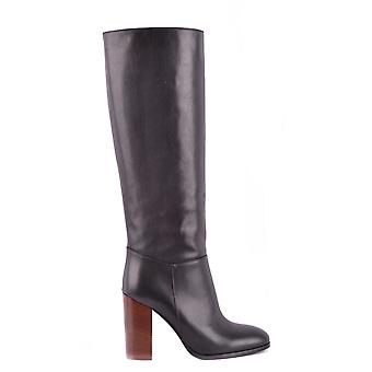 Jucca MCBI466002O ladies black leather boots