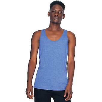 American Apparel Mens Triblend Polester Cotton Lightweight Tank Top