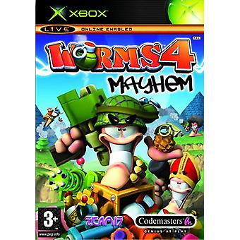 Worms 4 Mayhem (Xbox)