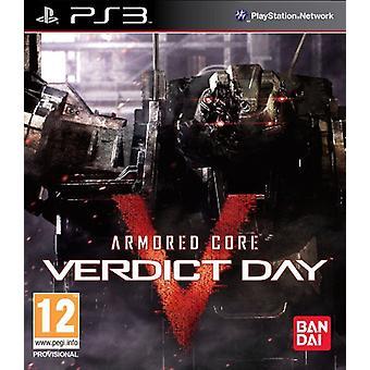 Armerade Core dom dag (PS3)