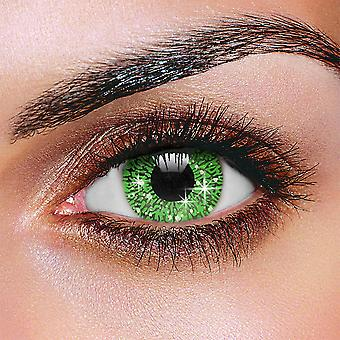 Glimmer Green Contact Lenses (Pair)