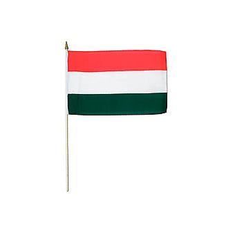 Ungarn Hand winkend Flagge