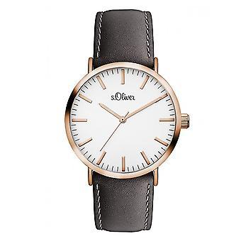 s.Oliver men's Unisex Watch wrist watch SO-3104-LQ