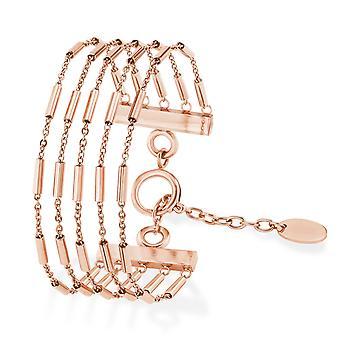 s.Oliver jewel ladies bracelet stainless steel IP ROSE Zirkonia 2021075