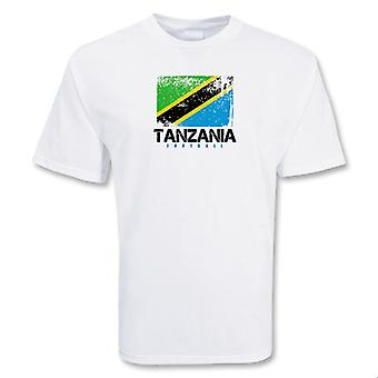 Tanzania piłki nożnej T-shirt