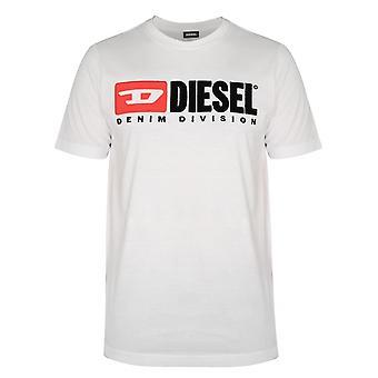 Diesel Diesel White Division Logo T-Shirt