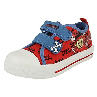 Jungen Disneys Canvas Schuhe Style - Jake Crossbone Canvas