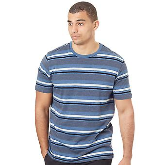 Oakley Ensign Blue Light Heather 50-Bold Stripe T-Shirt