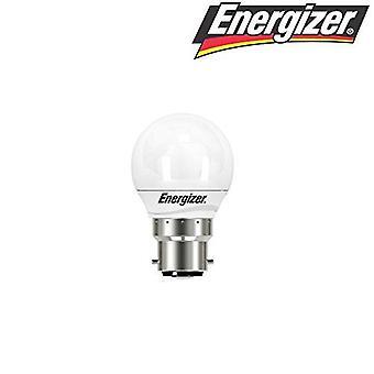 Energizer 5.9w = 40w LED Golfball Bayonet Cap (BC) Opal Extra Warm White - 2700k (S8838)[Energy Class A+]