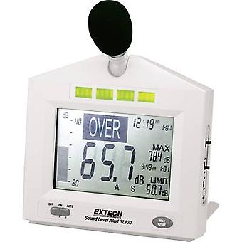 Extech Sound level meter SL130W 30 - 130 dB 31.5 Hz - 8000 Hz Calibrated to Manufacturers standards (no certificate)