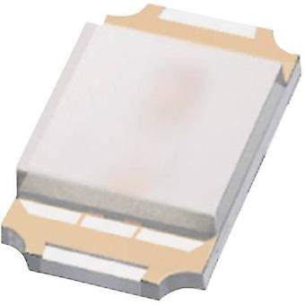 ROHM Semiconductor SML-P12YTT86 SMD LED 0402 Yellow 130 mcd 50 ° 20 mA 2.1 V