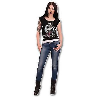 Spiral Rock Angel 2 In 1 Ripped Top XL