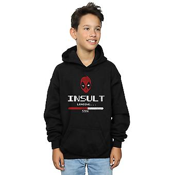 Marvel Boys Deadpool Insult Loading Hoodie