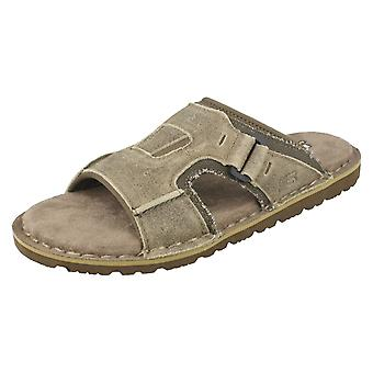 Mens Skechers with Memory Foam Relaxed Fit Sandals Golson 64148