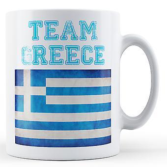 Equipe Grécia - caneca impressa