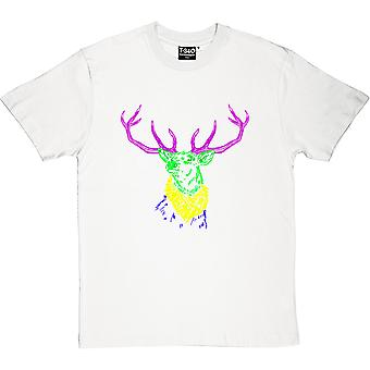 Psychedelic Deer Variant Two Men's T-Shirt
