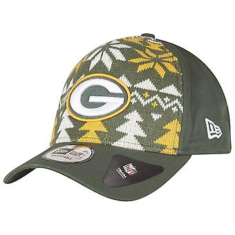 New era Christmas jumper Trucker Cap - NFL Green Bay Packers