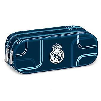 Real Madrid Double Zip Pencil Case