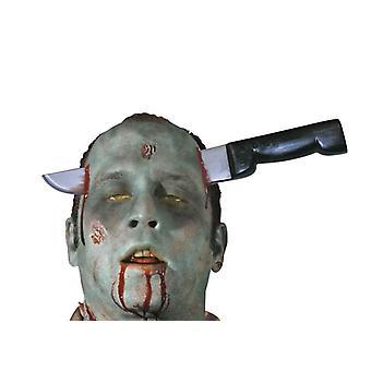 غيبوبة بنوف سكين خلا الرأس