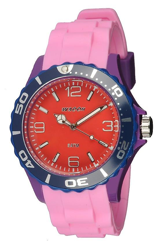 Waooh - Montre MC42 Multicolore violet rouge & bleu