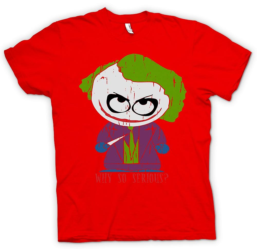 Hommes T-shirt - Joker mignon - Why So Serious