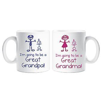 Je vais être A grands grand-père Mug